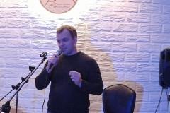 Выступление на творческом вечере в Благовещенске. Игорь Голубь