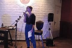 Выступление на творческом вечере в Благовещенске. Мария Кучумова. Выступление на поэтическом вечере в Благовещенске