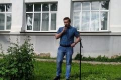 Выступление Михаила Душина на фестивале ДЫХАНИЕ ГОРОДА 2020 год